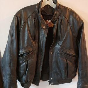 90's Harley Davidson Leather Men's Jacket